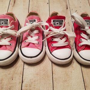 Toddler girl Converse size 5
